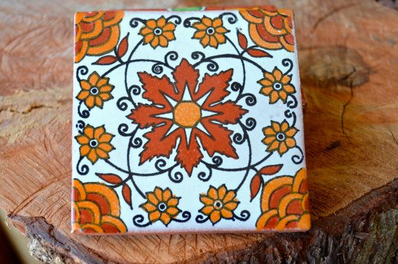 25  Mexican Talavera Tiles.Hand painted 4 X 4 by MexicanTiles, $37.50