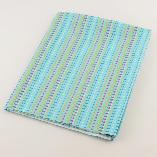 50 см x 160 см / часть домашнего текстиля сказки постельных принадлежностей зелеными точками дизайн хлопковый DIY лоскутное стегальную тильда пошив одежды