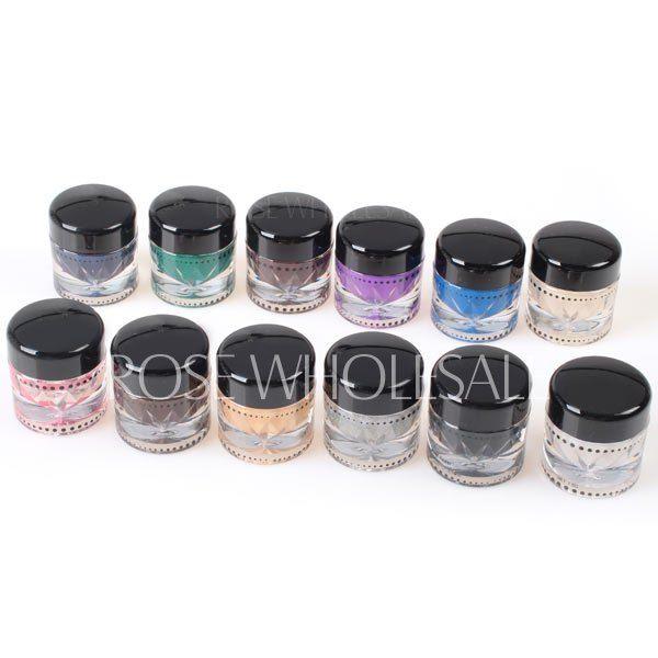 M2022 Long Lasting 12 Colors Waterproof Music Flower Gel Eyeliner Cream Eye Shadow Kit