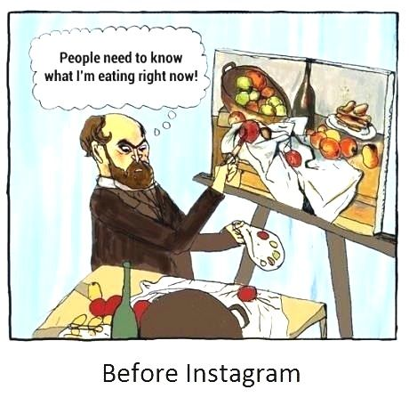 Before Instagram..