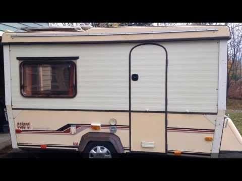1984 Esterel Supermatic S15 Folding Caravan