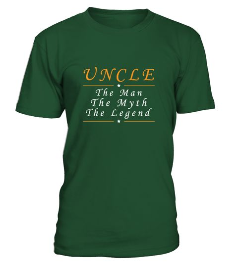 "# UNCLE THE MAN THE MYTH THE LEGEND .  Special Offer, not available anywhere else!Other Versions:PAPA: https://www.teezily.com/fec9pnqGRANDPA: https://www.teezily.com/f5x2wl6HUSBAND: https://www.teezily.com/865tshb      Available in a variety of styles and colors      Buy yours now before it is too late!      Secured payment via Visa / Mastercard / Amex / PayPal / iDeal      How to place an order            Choose the model from the drop-down menu      Click on ""Buy it now""      Choose the…"