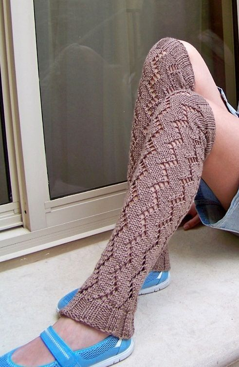 Simple Leg Warmer Knitting Pattern : 17 Best images about Footwear Knitting Patterns on Pinterest Quick knits, C...