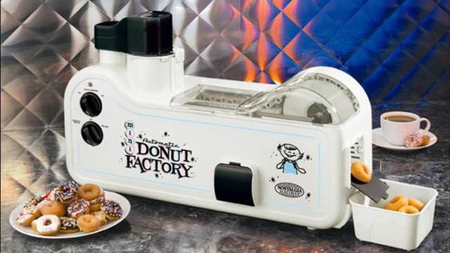 Only $180 for an automated mini-donut maker? Unbelievable!