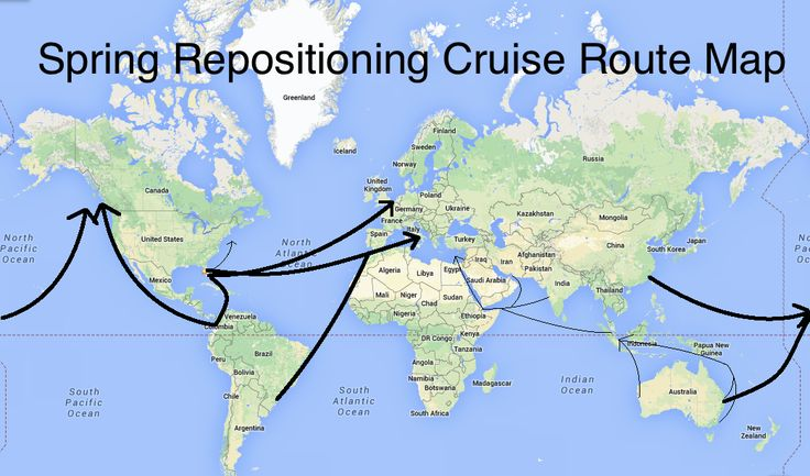 Spring Repositioning Cruises - From Roaming Around the World