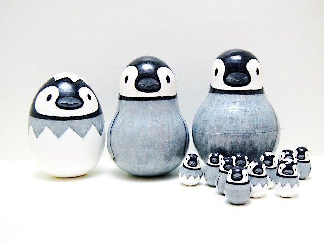 1234…Penguin Nesting Dolls