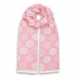 Dotted Soft Stole Rose