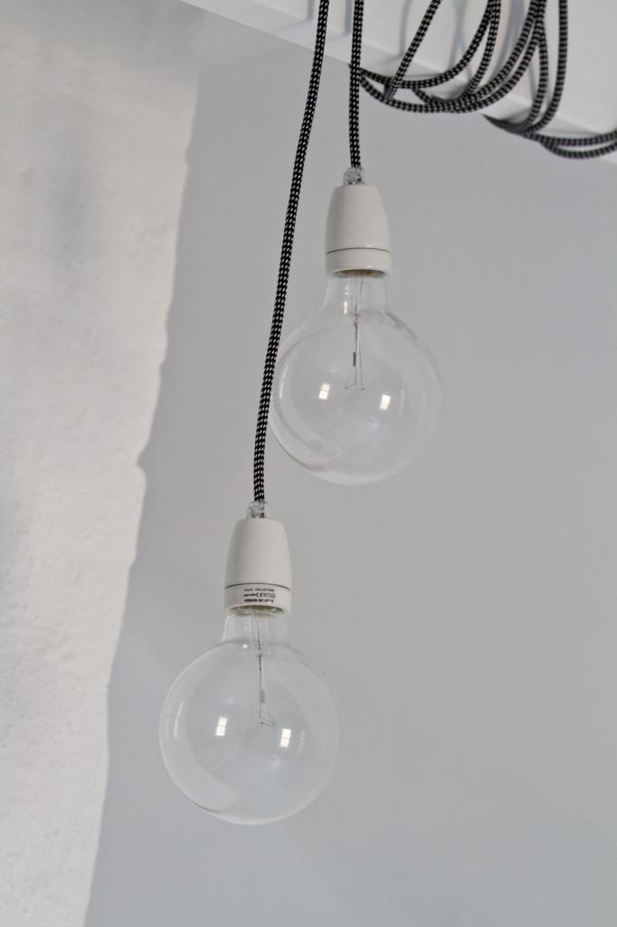 Nud-lamper på loftet   Nr14