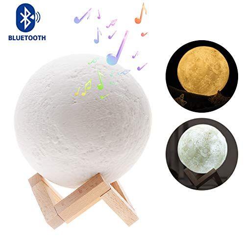 MusicaleLed Décoration De Pour Moon Lampe Sense Luna Lune Chambre v8m0NnwO