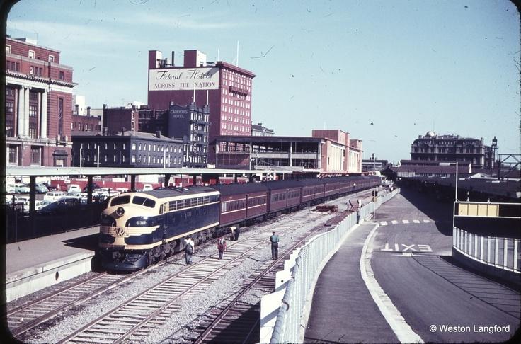 SpencerSt Station 1962