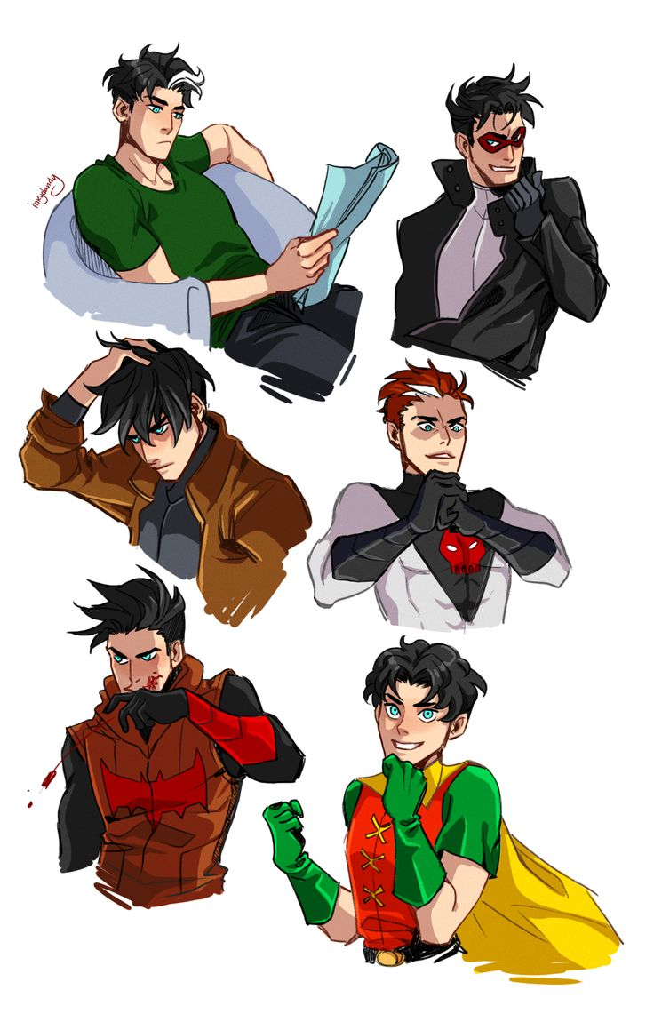 Started out as a comic, but then I just ended up drawing a bunch of Jasons and oh hi little Jaybird!