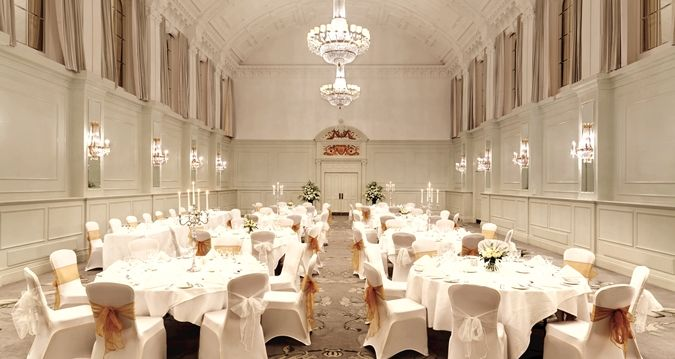 Hilton Brighton Metropole hotel - Clarence Suite Wedding Breakfast