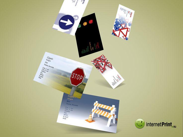 Legújabb névjegykártya minta - Latest business card template