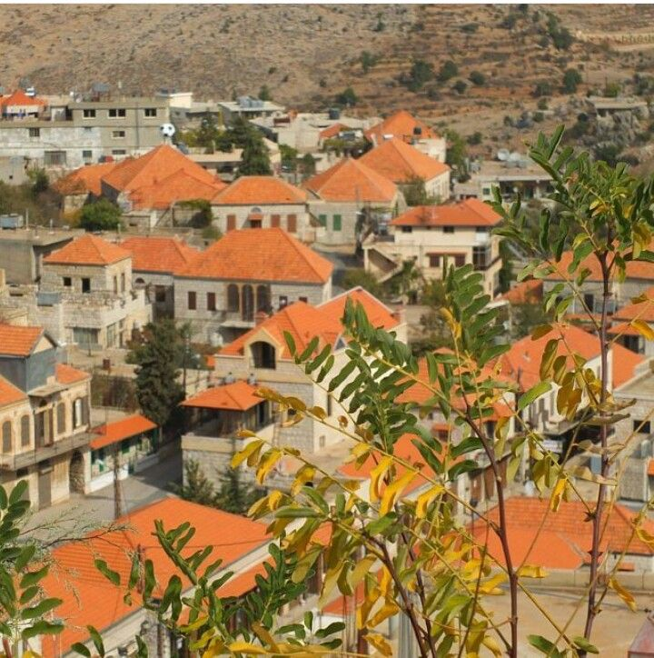 Picturesque town of Rashaya, Lebanon                                                                                                                                                                                 More