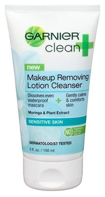 Garnier Clean+ Makeup Removing Sensitive Skin Lotion Cleanser