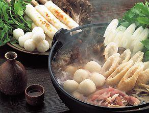 きりたんぽ鍋  Kiritanpo-nabe