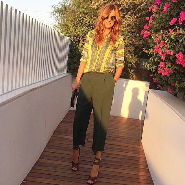 Ramona Filip pants shirt