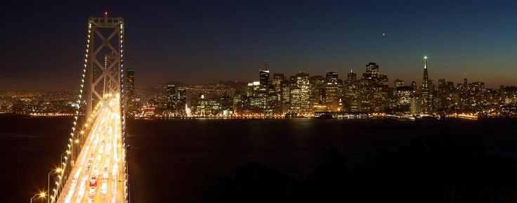 San Francisco. I'd love to go here to spend some time instead of just being there for a layover.