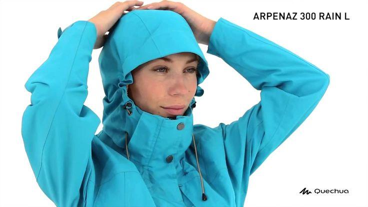 Jaqueta Impermeável Arpenaz 300 Rain Quechua - Exclusividade Decathlon
