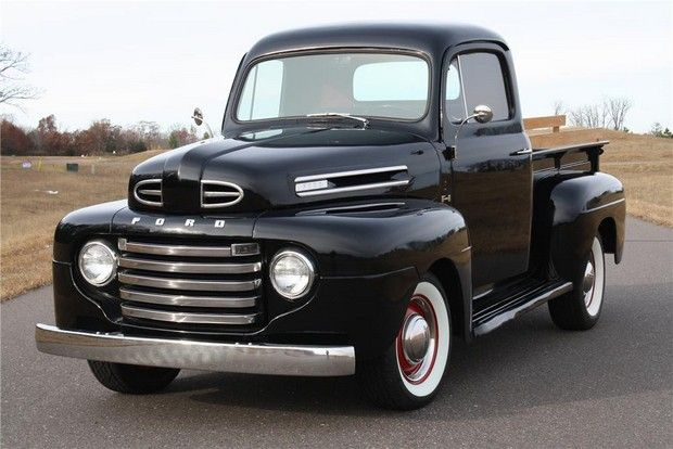 6) 50's flashback--1950 FORD F-1 PICKUP--my grandpa had one