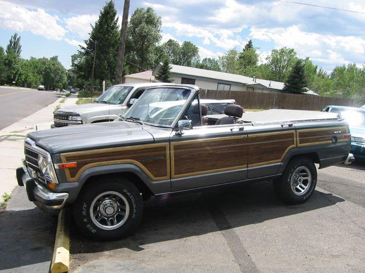 1988 jeep grand wagoneer soft top!