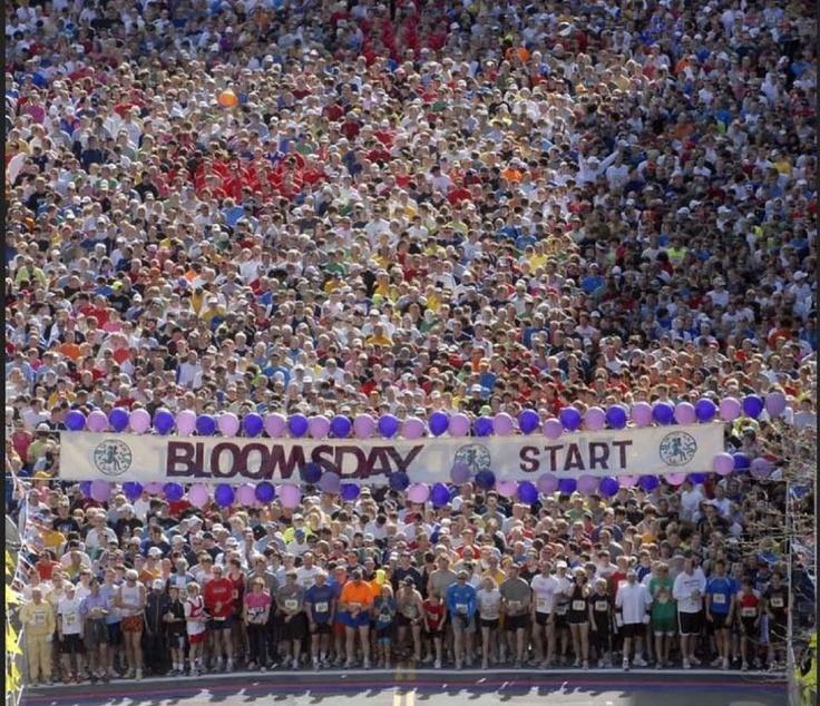 Bloomsday Spokane Washington. Ready,set,go! 2013