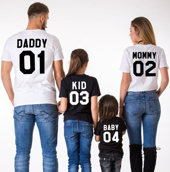 Mami Papi Baby 01 padre madre hija hijo camisetas por EpicTees4You