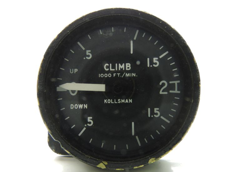 Rate of Climb / Vertical Air Speed Indicator US Navy Lockheed P-3 Orion 2