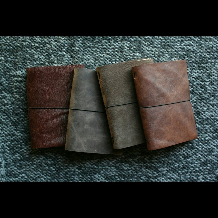 Traveler's Notebooks - leather journals by She.Makes.Bags https://www.instagram.com/p/BOPzZPmgnf5/