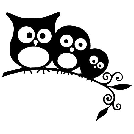 owls, maybe paint them on the wall of my daughter's new room!