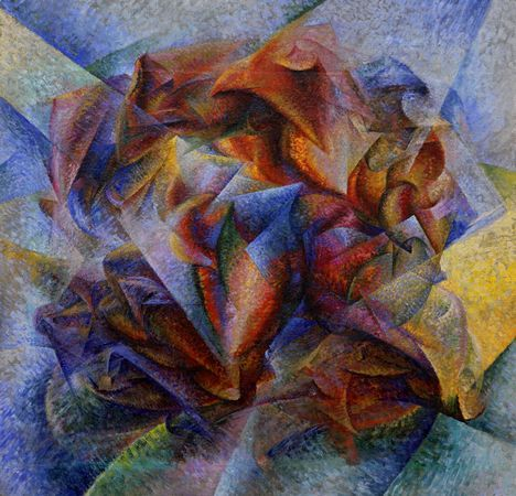 "Umberto Boccioni. ""Dynamism of a Soccer Player"" in honor of USA winning today!"