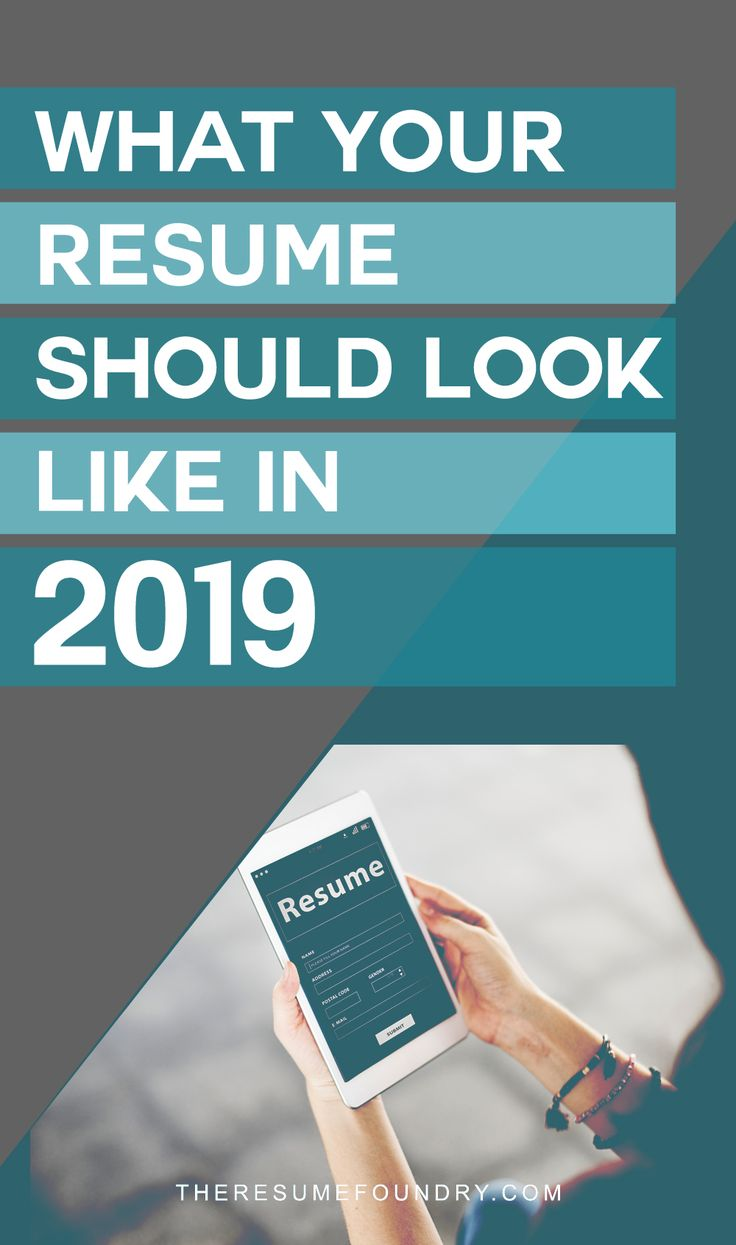 how to update your resume for 2019 in 2019