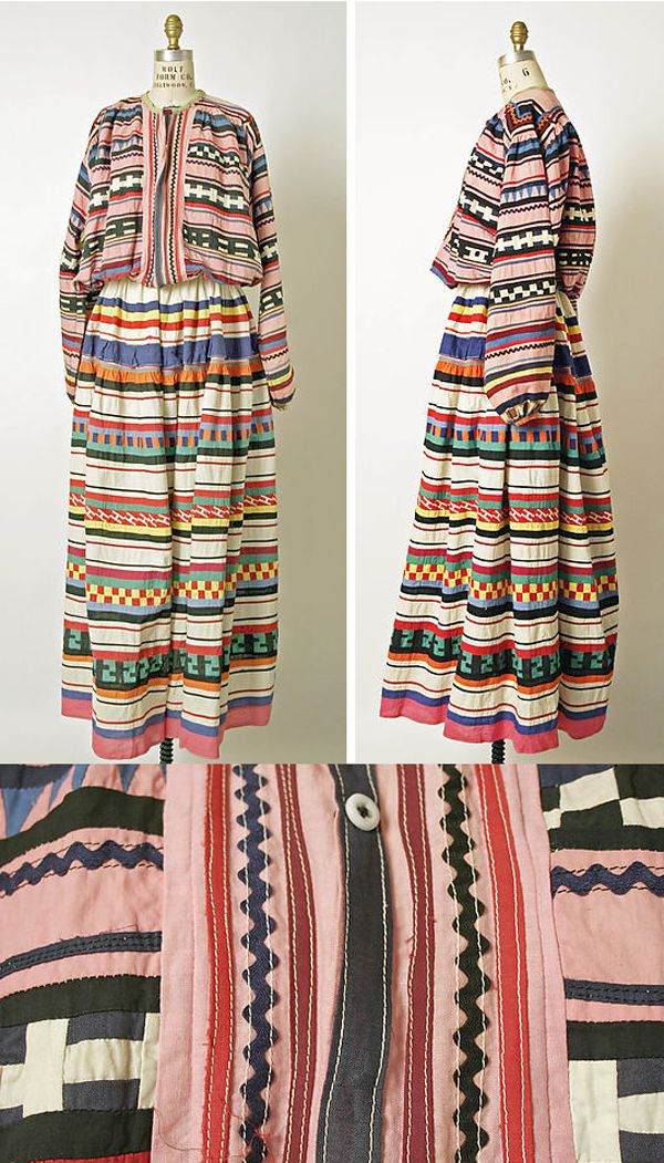 Vintage Seminole Dress