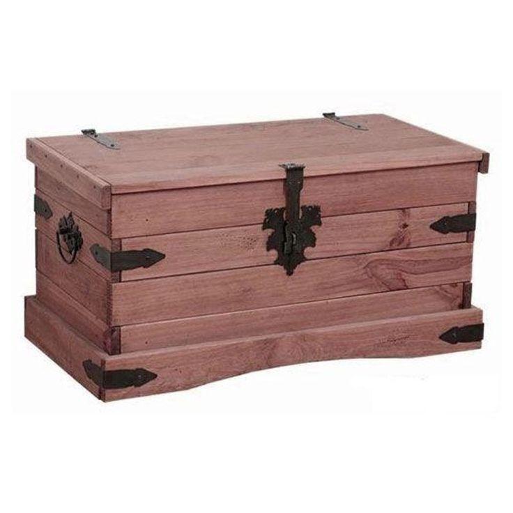 Las 25 mejores ideas sobre baul de madera en pinterest for Baul madera barato