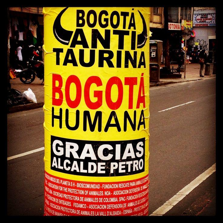 Febrero 2013 - Cuando Petro era popular. © @labogoteca