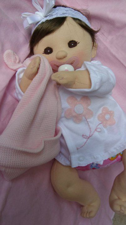 PDF PATTERN  Cloth Baby Doll. Thats so cute!