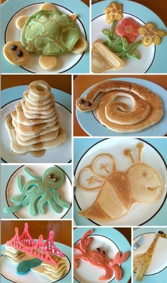 Fun Shaped Pancakes! from jimspancakes.com