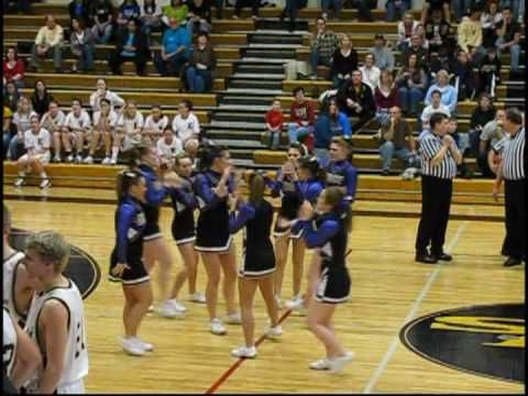 Neat Quarter cheer stunt! - YouTube