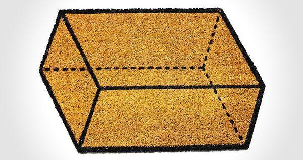 Parallelogram Doormat