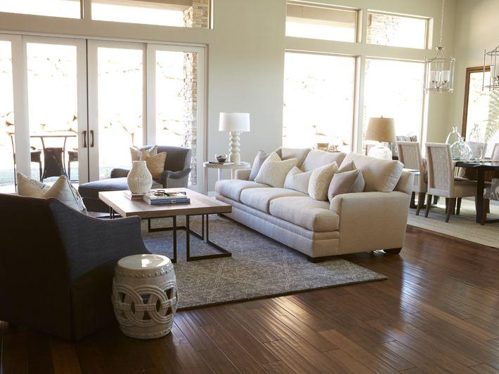 32 best open floor plans images on pinterest my house for Elegant neutral living rooms