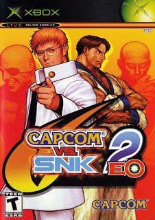 Capcom vs SNK 2 EO [Full Game] Included in Demo Disc (Original Xbox)