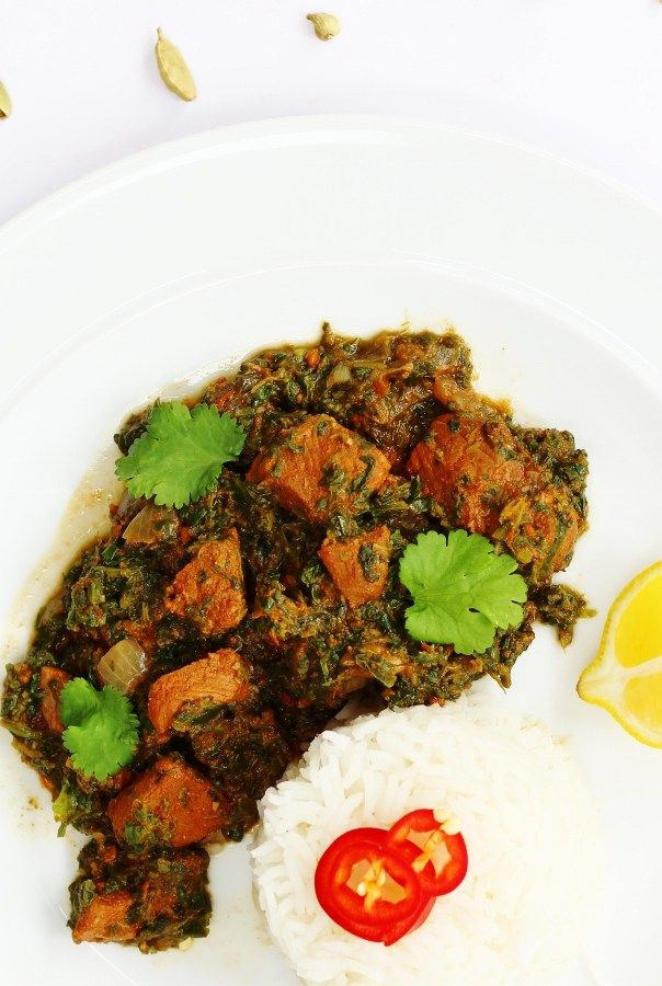 Lamb Saag Lamb And Spinach Curry In 2019 Spinach Curry