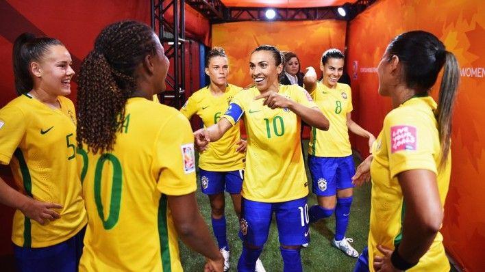 Uniforme da seleção brasileira na Copa do Mundo Feminina (Fifa.com)