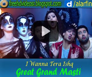 I Wanna Tera Ishq Video Song | Great Grand Masti | Riteish | Vivek | Aftab | Urvashi http://ift.tt/2yICVIw