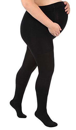 Opaque Maternity Compression Stockings - Firm Support 20-30mmHg, Maternity Compression Pantyhose - Size, Medium, Color Black - Absolute Support - Sku A208  Surgical Opaque Maternity Pantyhose 20 to 30mmHg Closed Toe  Made of a durable Opaque material Out of 78 percent Nylon or 22 percent Lycra Spandex Designed to help relieve moderate conditions associated with poor circulation that may appear during the 2nd and 3rd trimesters  Size chart provided above Pre pregnancy weight US Size Sma...