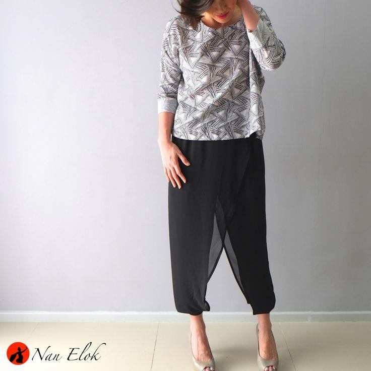 Nirmala Pants and Clover Top
