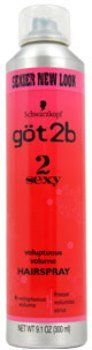 Unisex Got2b 2 Sexy Voluptuous Volume Hair Spray Hair Spray 1 pcs sku 1789587MA ** This is an Amazon Affiliate link. Want additional info? Click on the image.