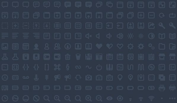 Batch — 300 Awesome Icons for Web and UI Design.