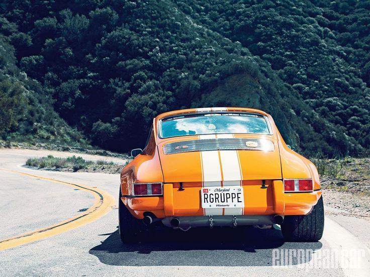 03 1971 porsche 911 TST aluminum engine lid