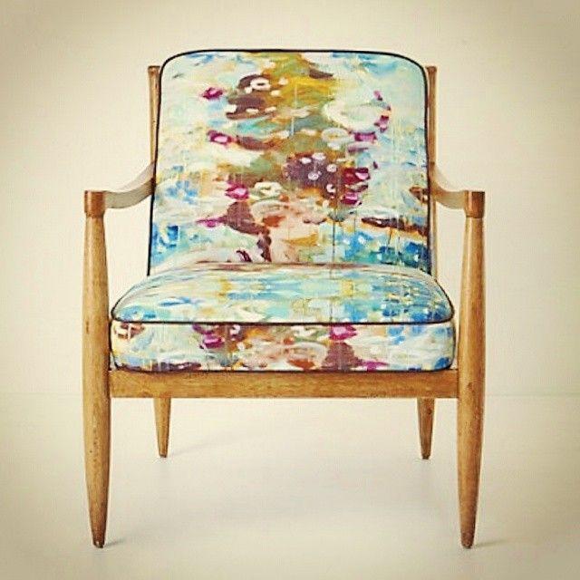Biz bunu beğendik! Siz ne düşünüyorsunuz? Anthropologie marka koltuk  We liked this chair.. What are you thinking about it? #mobilya #koltuk #sandalye #berjer #kanepe #tasarım #içmimari #döşeme #sanat #furniture #suluboya #desen #ahşap #wood #ankara #antalya #istanbul #bodrum #dekorasyon #evmanya #evim #mudo #igersistanbul #igersankara #igersturkey #turkey